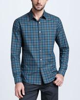 Theory Plaid Sport Shirt, Duler