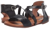 Miz Mooz Aster (Black) Women's Sandals