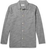 Oliver Spencer Loungewear - Pinstriped Cotton Pyjama Shirt