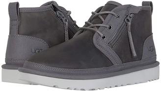 UGG Neumel Zip (Dark Grey) Men's Shoes