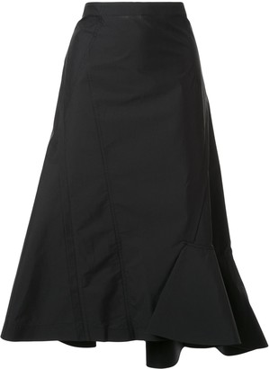 3.1 Phillip Lim Ruffled Hem Skirt