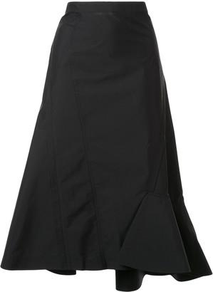 3.1 Phillip Lim Ruffled Hem Skirt