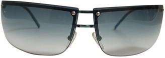 Gucci Blue Metal Sunglasses