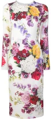 Dolce & Gabbana floral print pencil dress