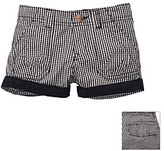 Osh Kosh OshKosh BGosh Girls' 2T-4T Navy Gingham Woven Shorts