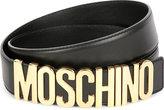 Moschino Logo-detail Leather Belt
