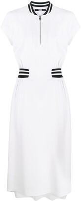 Karl Lagerfeld Paris Cady Tennid Midi Dress