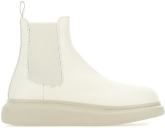 Alexander McQueen Chelsea Hybrid Ankle Boots
