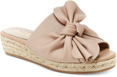 Nanette Lepore Nanette by Dominik Knotted Wedge Flats Women's Shoes