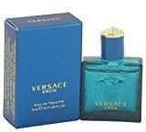 Versace Eros by Men's Mini EDT .16 oz - 100% Authentic
