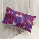 Minted Fantastic Florals Lumbar Pillow