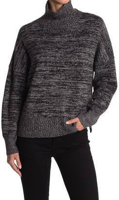 French Connection Space Dye Mock Neck Sweater