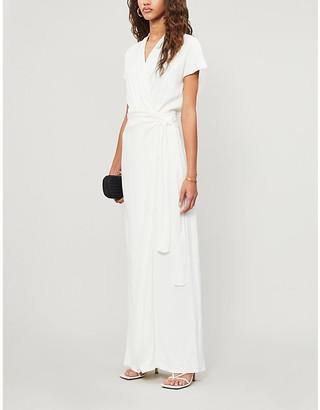 Vanessa Cocchiaro The Lady wrap-over woven maxi dress