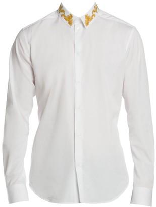 Versace Woven Evening Shirt