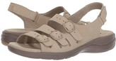 Clarks Saylie Quartz (Sand Nubuck) Women's Sandals