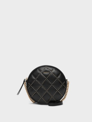 DKNY Lara Studded Circle Crossbody Bag