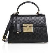 Gucci Padlock Small GG Leather Top-Handle Bag