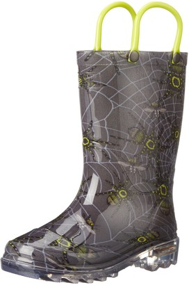 Western Chief Spider Prey Light-Up Rain Boot (Toddler/Little Kid/Big Kid)