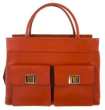 Andrew Gn Leather Satchel