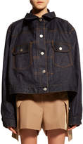 Sacai Oversized Two-Layer Denim Jacket