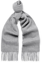Beams Fringed Cashmere Scarf