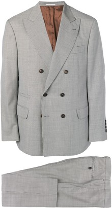 Brunello Cucinelli double-breasted suit
