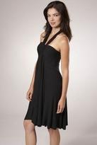 Rachel Pally Full-Tie Tube Dress in Black