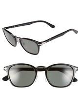 Persol 51mm Polarized Retro Sunglasses