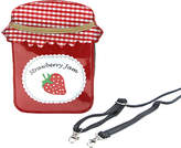 Sleepyville Critters Women's Handbags Red - Red Strawberry Jam Crossbody Bag