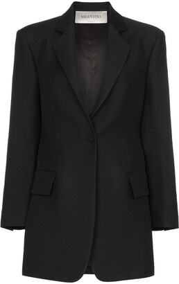 Valentino boxy-cut blazer