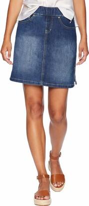 Jag Jeans Women's Petite On The Go Skort
