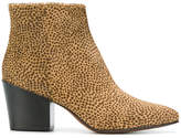 Buttero fur ankle boots