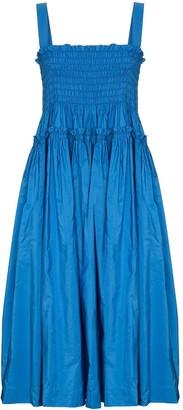 Molly Goddard Kayla shirred midi dress