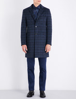 Etro Checked wool-blend jacket