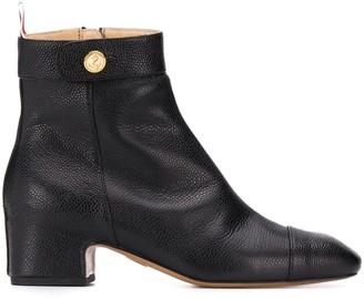 Thom Browne Block Heel Ankle Boot