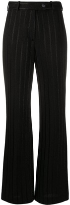 Missoni Metallic-Stripe Flared Trousers
