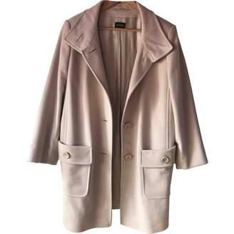 Basler Beige Wool Coat for Women