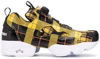 Reebok x Opening Ceremony plaid check trainers