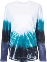 Baja East tie dye T-shirt