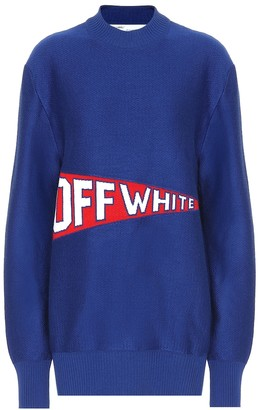 Off-White Off White Stretch wool blend sweater