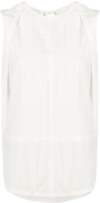 Helmut Lang Back Slit Top