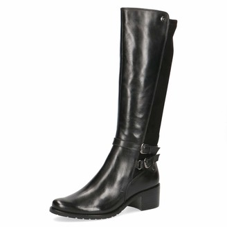 Caprice Women Boots Ladies Classic Boots Boots Leather Boots Riding Boots Equestrian Look