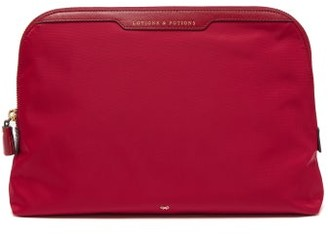 Anya Hindmarch Lotions & Potions Wash Bag - Womens - Red Multi