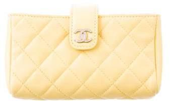 Chanel Lambskin Phone Case
