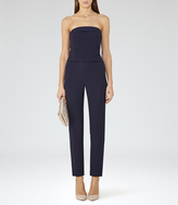Reiss Ray STRAPLESS JUMPSUIT