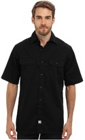 Carhartt Twill S/S Work Shirt Men's Short Sleeve Button Up