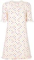 Valentino polka dot print mini dress
