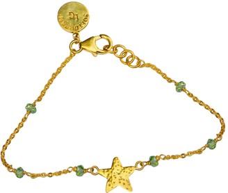 Softdream By Lauragalasso Peridot Star Sparkle Bracelet