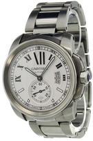 Cartier 'Calibre' analog watch