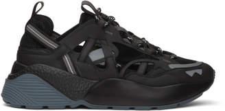 Stella McCartney Black Eclypse Cut-Out Sneakers
